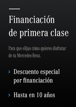 financiar mercedes ocasion