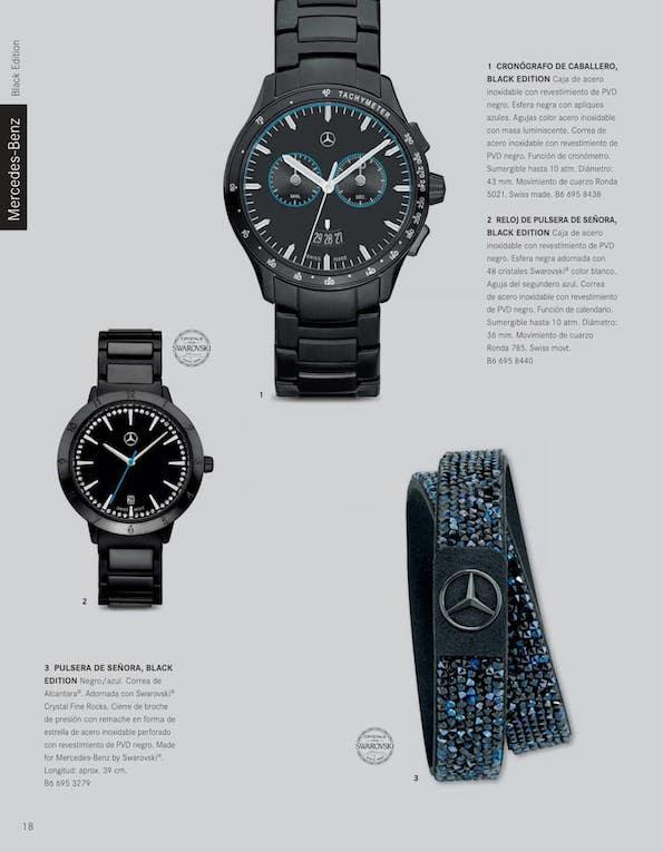 21ab0e48e578 Boutique de recambios y accesorios Mercedes-Benz. Colección 2018. Página 20