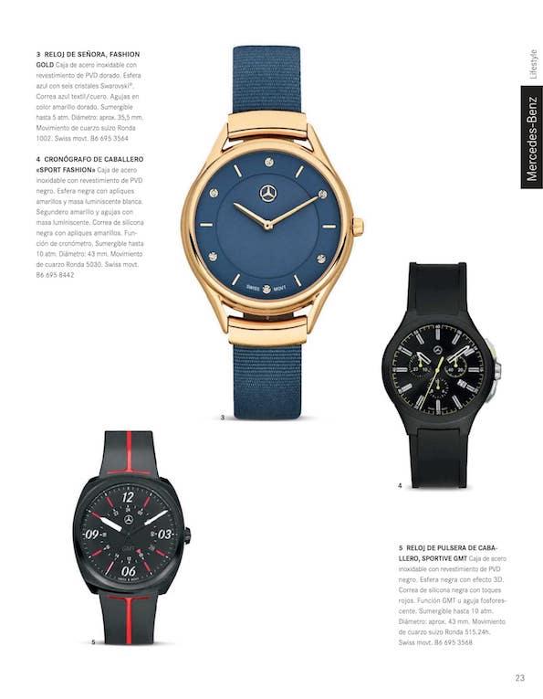 8e4348275a43 Boutique de recambios y accesorios Mercedes-Benz. Colección 2018. Página 25