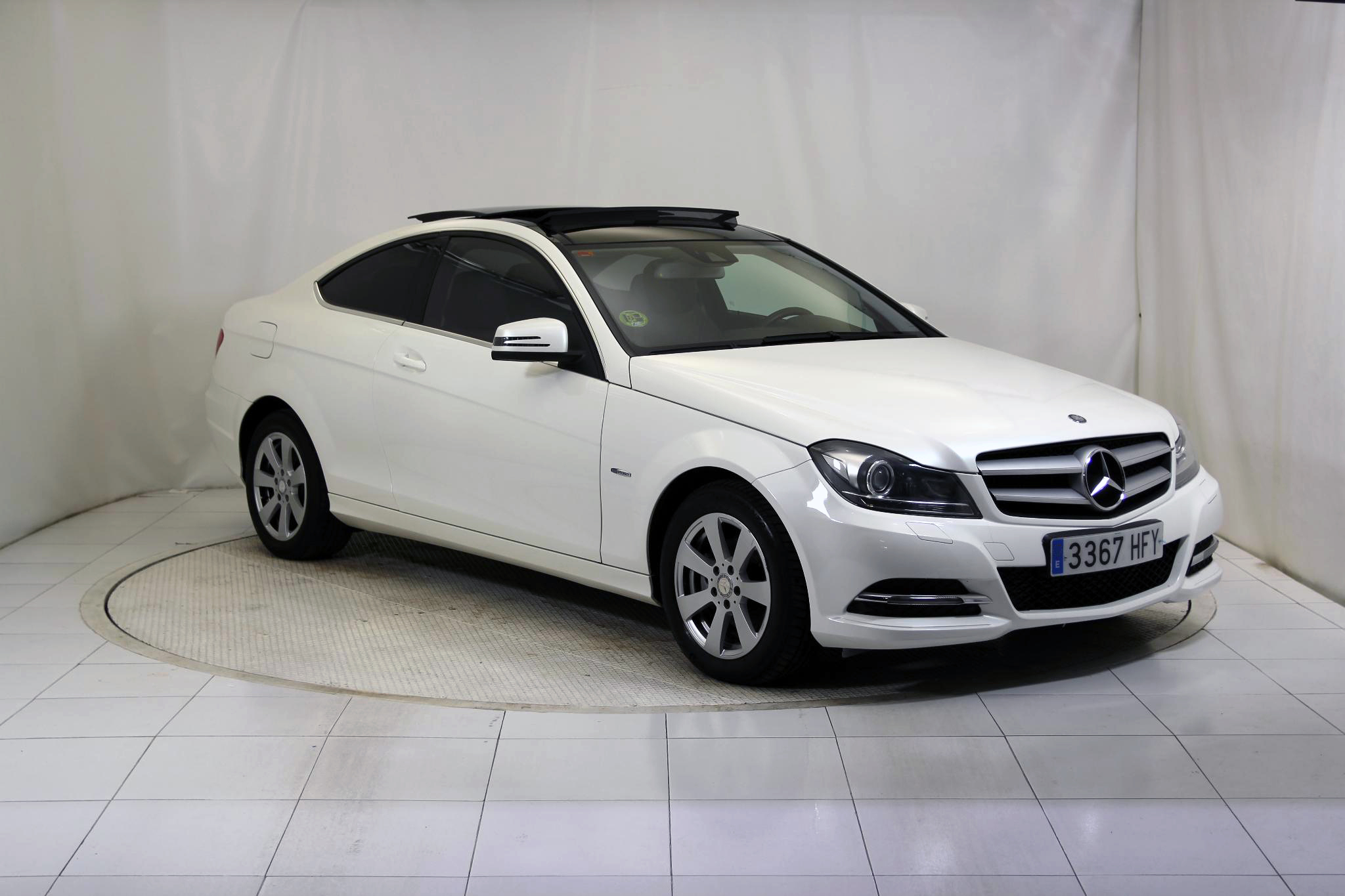Mercedes-Benz Clase C CLASE C COUPE 220 CDI BLUE EFFICIENCY imagen 4