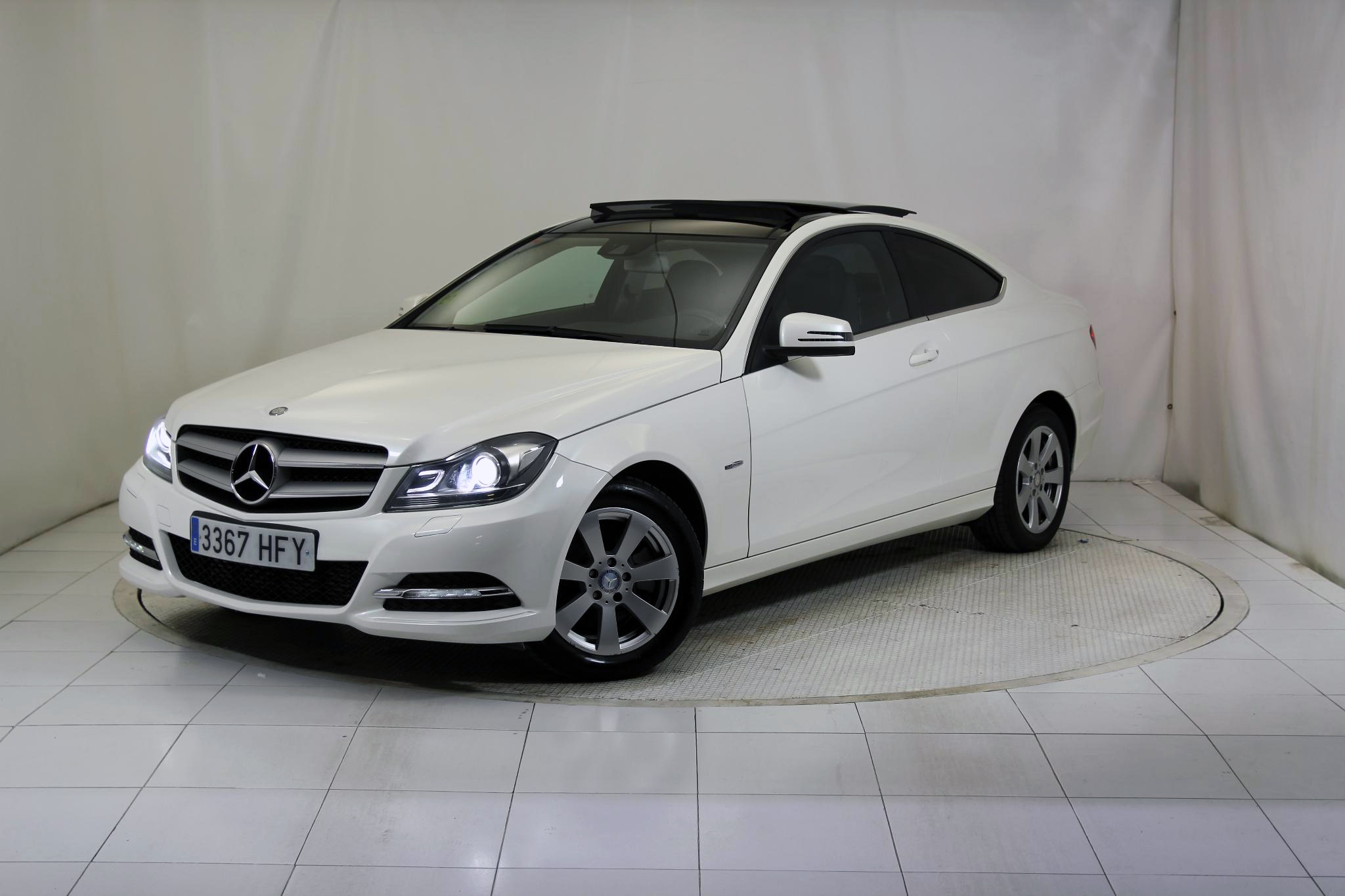 Mercedes-Benz Clase C CLASE C COUPE 220 CDI BLUE EFFICIENCY imagen 2